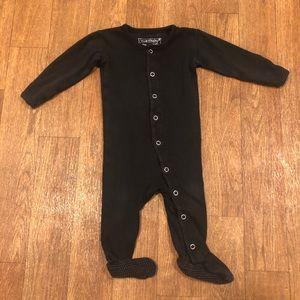 L'ovedbaby Organic Black Footie